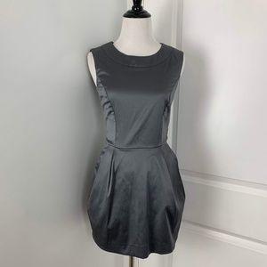 Button Back Satin Dress
